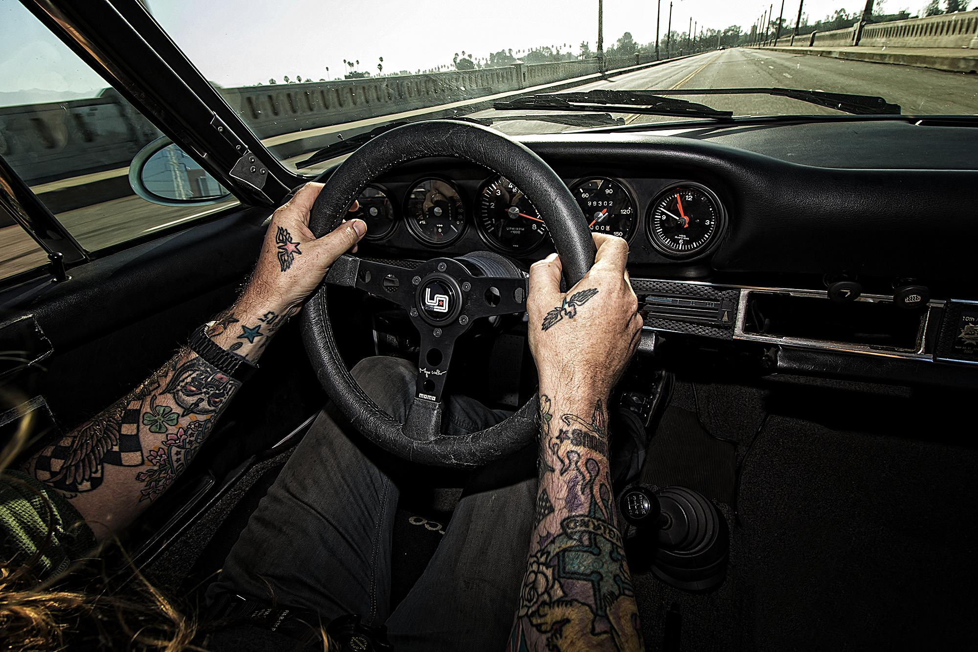 Magnus Walker signature series MoMo Steering Wheel