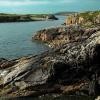 Coastline of UIg Bay in the Scottish Hebrides
