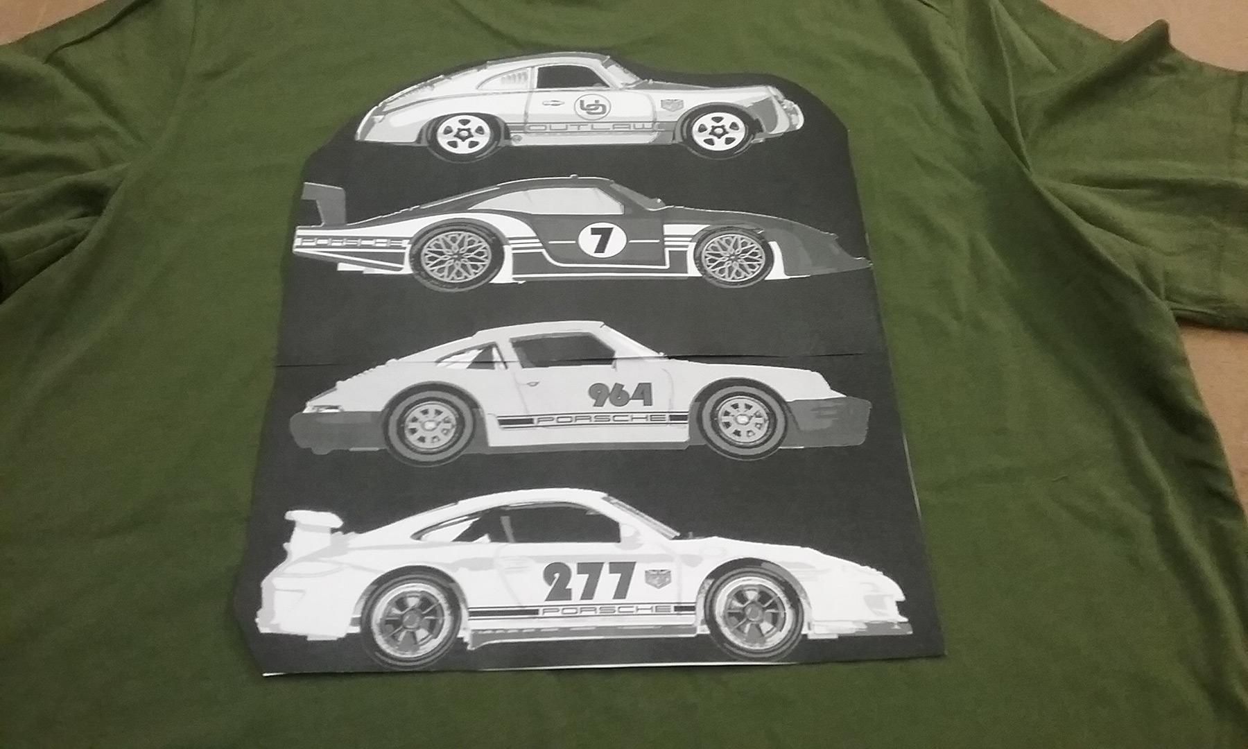 Hotwheels T-shirt mockup for the Long Beach Grand prix event.