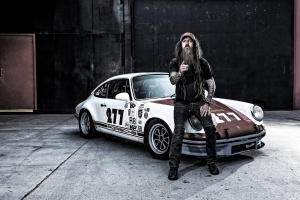 Magnus Walker and his signature 277 Porsche race car