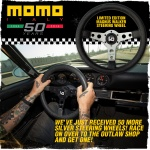 Momo and Urban Outlaw Limited Edition Steering Wheel Promo Design.