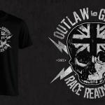 Race Ready Skull T-shirt Artwork
