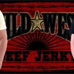 Wild West Beef Jerky T-shirt artwork.