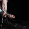 Shot in Los Angeles, CA, Junker Designs Sneakers.